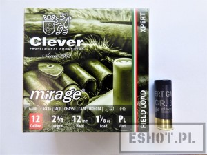 Amunicja śrutowa Clever Mirage 2/12/70T2 XpertGame32gr